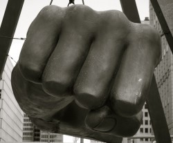 Detroit's Joe Louis Fist