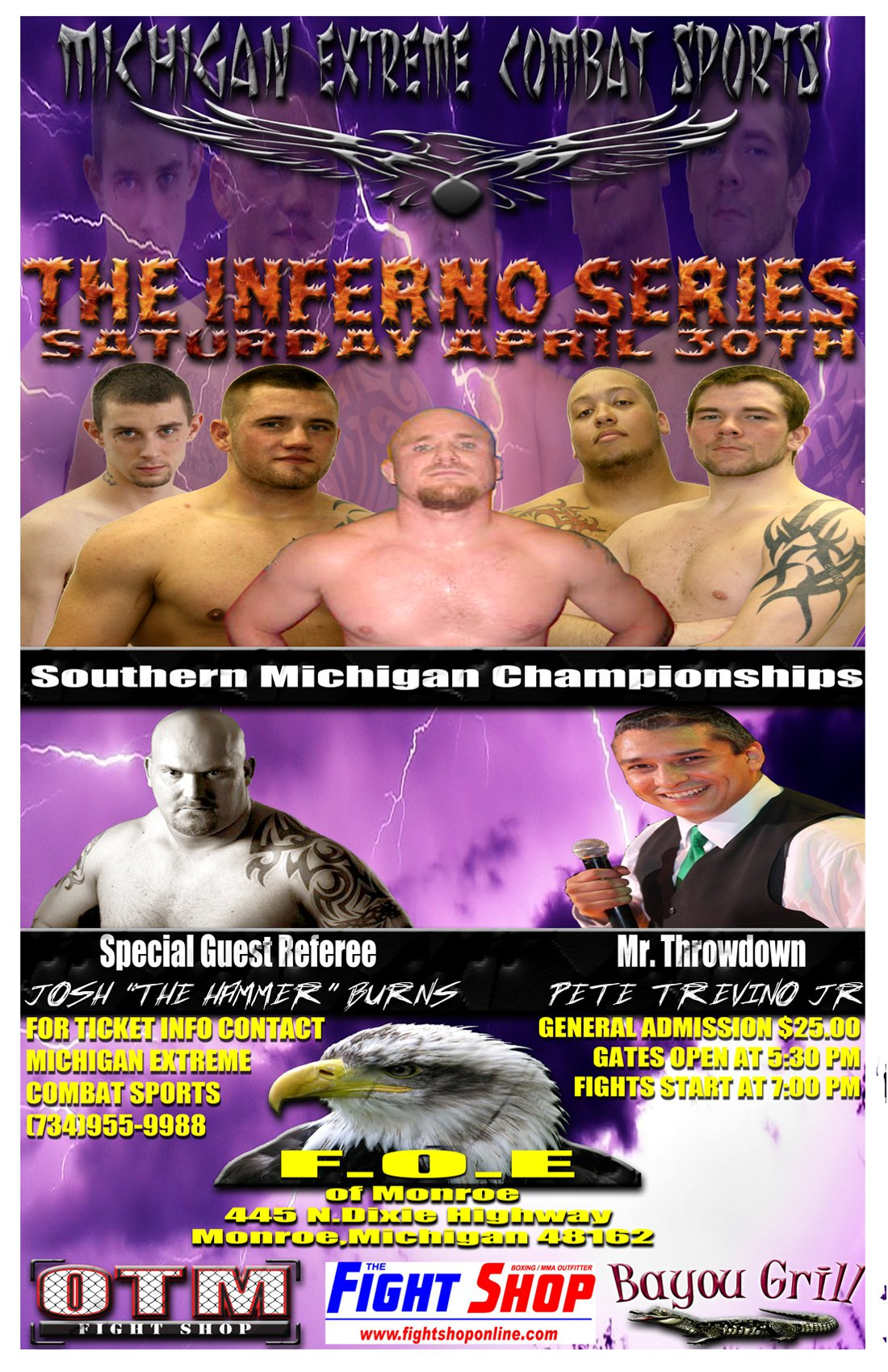 Michigan Extreme Combat Sports - Inferno Series