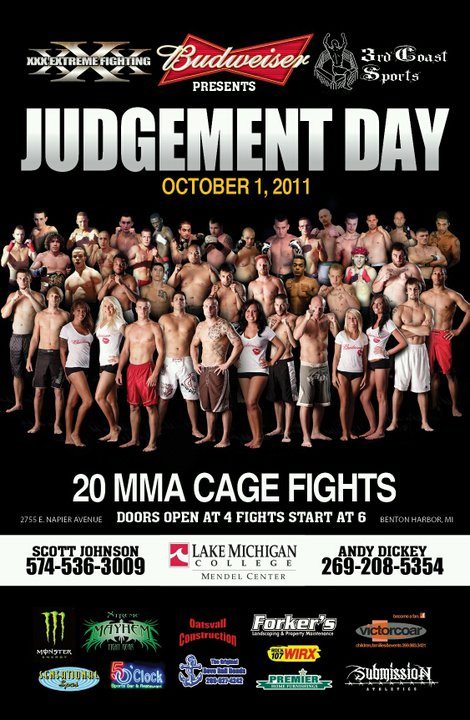 XXX Extreme Cagefighting - Judgement Day