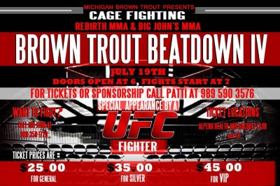 Big John's MMA - Brown Trout Beatdown IV