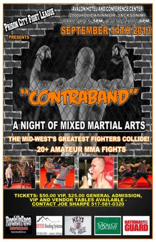 Prison City Fight League - Contraband